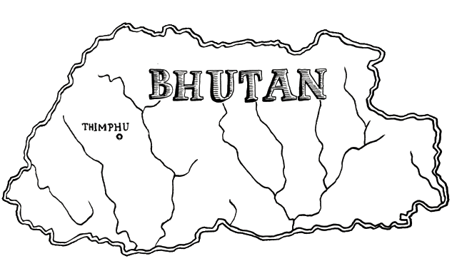 Bhutan Country