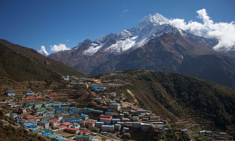 Trek land of sherpas